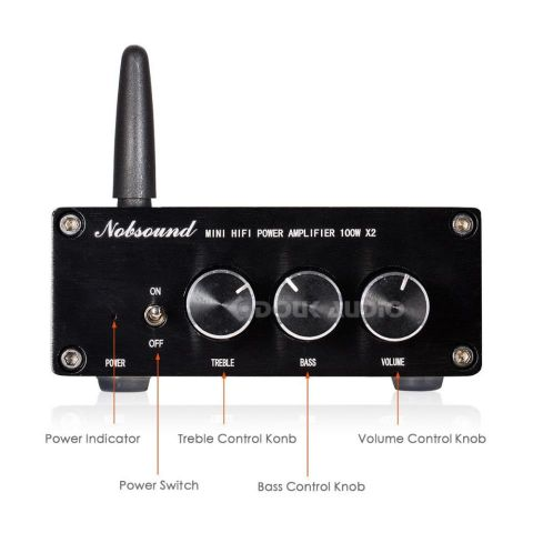 Nobsound Mini TPA3116 Digital amplificador Audio