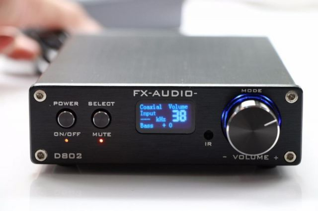 FX-Audio D802 HiFi Digital completo amplificador